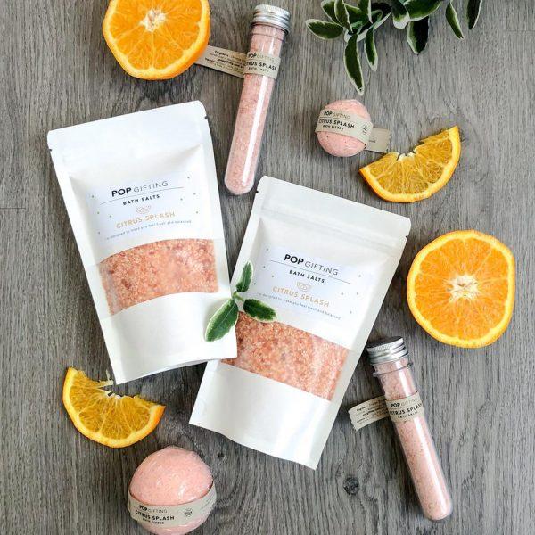 Citrus splash bath salts