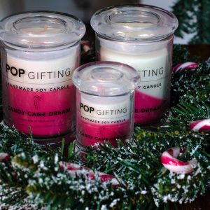 Large Soy Candle – Candy Cane Dream