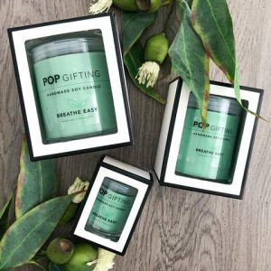Breathe Easy Soy Wax Candle