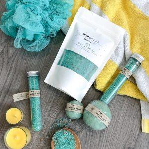250gram Bath Salts – Muscle Relax