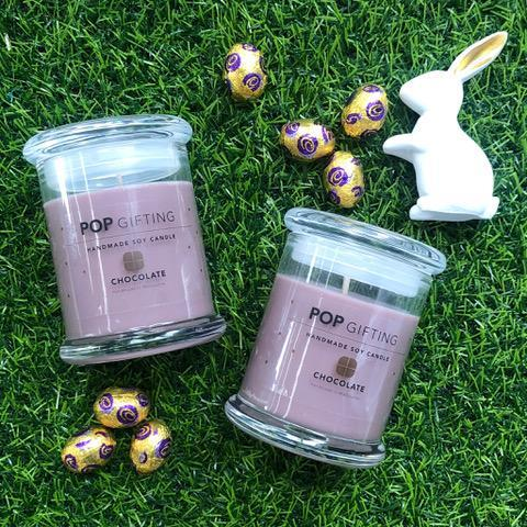 Soy chocolate candle Easter Vegan
