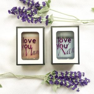I Love You – Personalised Soy Candle