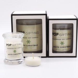 Large Soy Candle – White Christmas